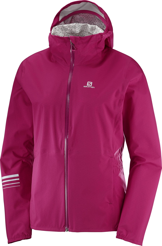 Lighting Jacket: Salomon Lightning WP Running Jacket Women Pink At
